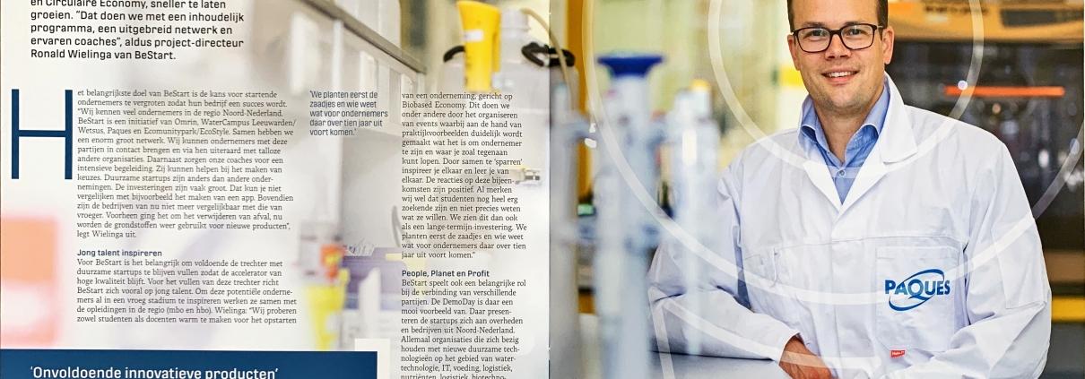 Interview met Ronald Wielinga in biobased economy