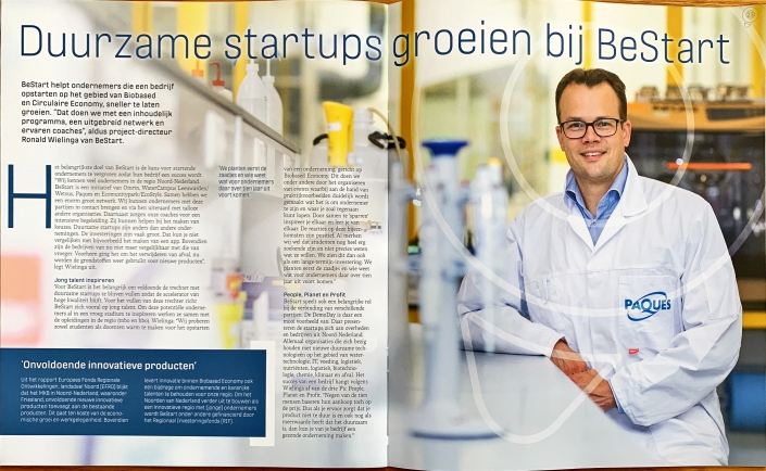 Interview met Ronald Wielinga in biobased economy