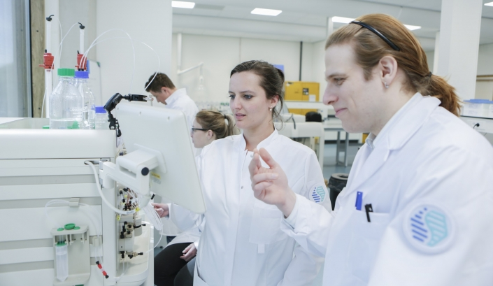 EV biotech - in het lab