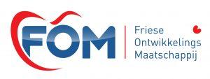 Logo Friese ontwikkelingsmaatschappij FOM