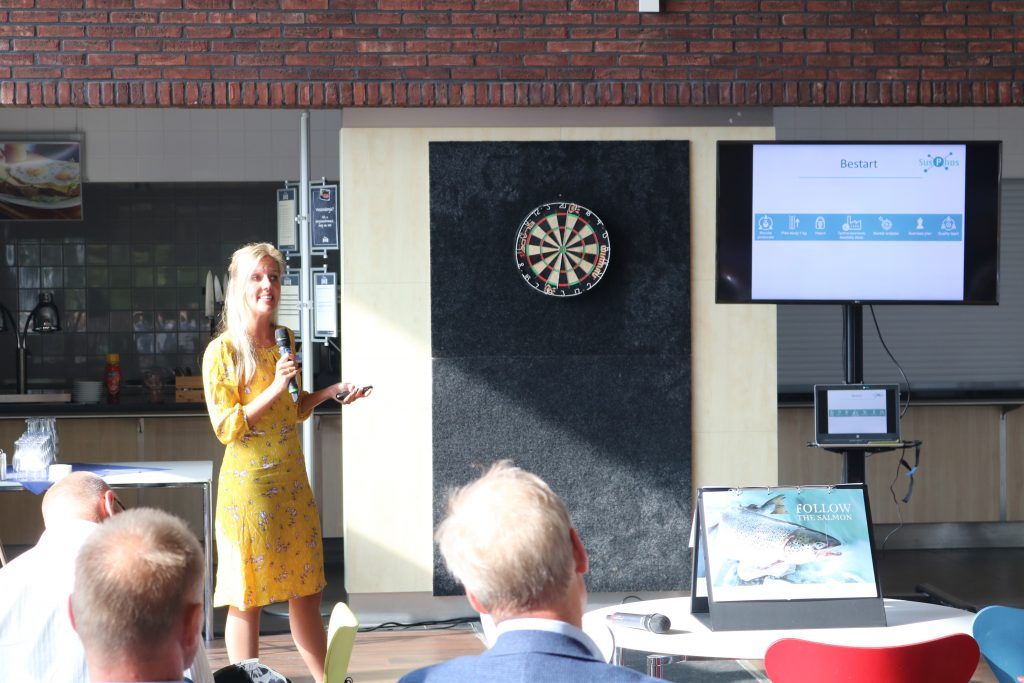 Marissa de Boer pitcht by BeStart DemoDay